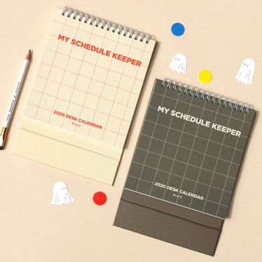 Календарь '2020 Desk Calendar My Schedule Keeper'
