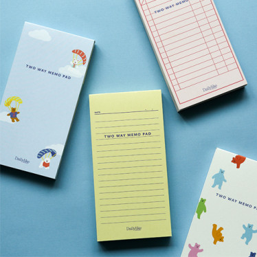 Блокнот 'Two Way Memo Pad'
