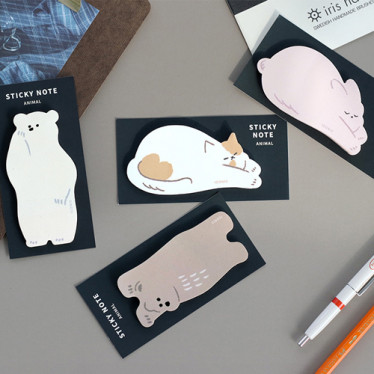 Стикеры 'Animal Sticky Note'