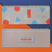 Еженедельник '2020 Neon Pop Desktop Planner'