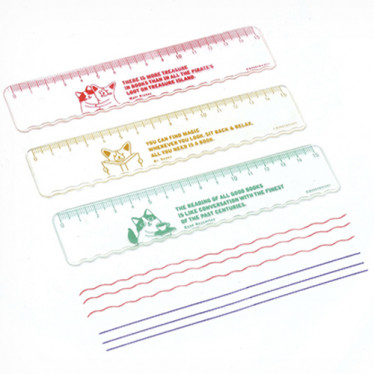 Закладка 'Reading Pet Soft Ruler'