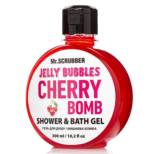 Гель для душа 'Jelly Bubbles Cherry Bomb'