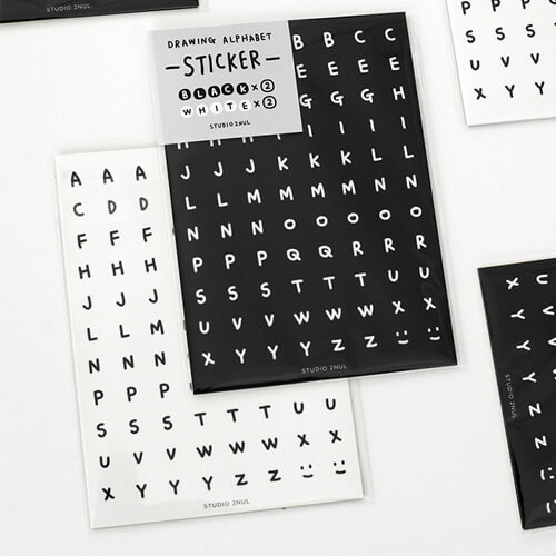 Наклейки 'Drawing Alphabet Stickers'