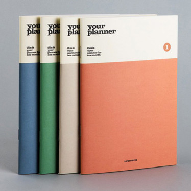 Ежедневник 'Life & Pieces Your Planner (1 Month)'