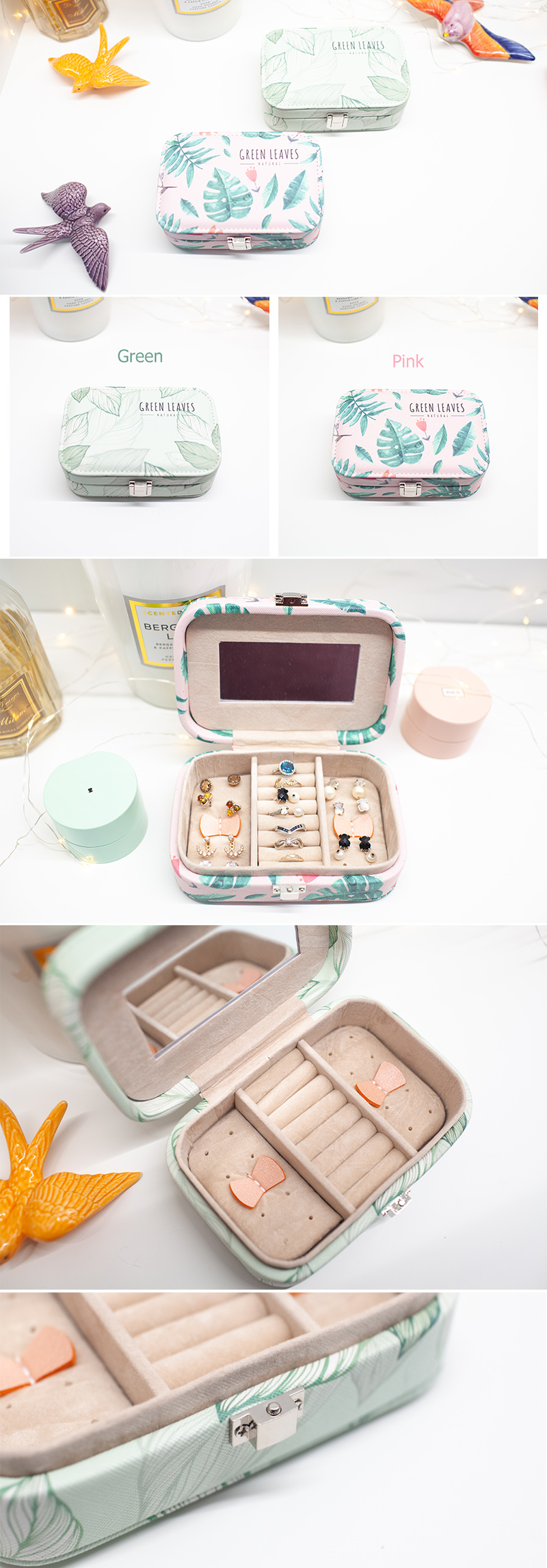 Косметичка 'Pastel Jewelry Pouch' S